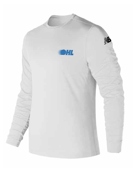 Picture of OHL New Balance Tech Long Sleeve (White)