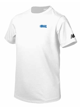 Picture of OHL Youth New Balance Tech Short Sleeve (White)